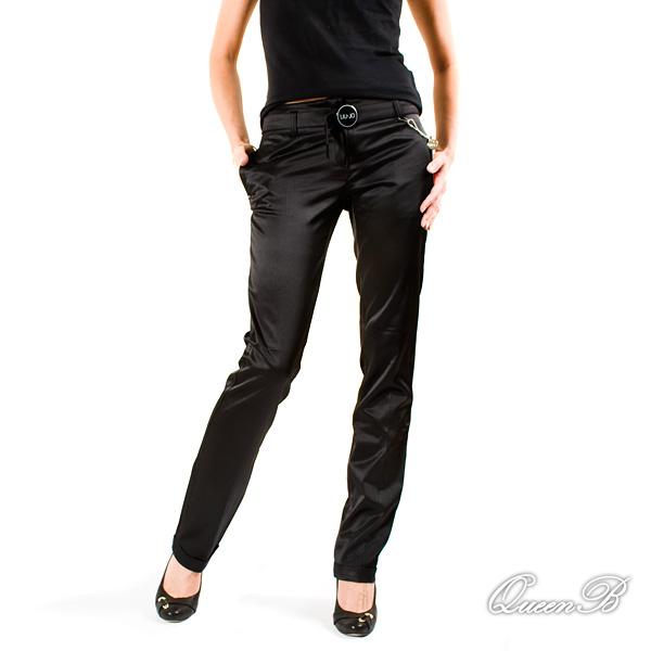 61f346a5cec elegantsed satiiniläkelised mustad püksid, suurus neiude 14A, naiste ...