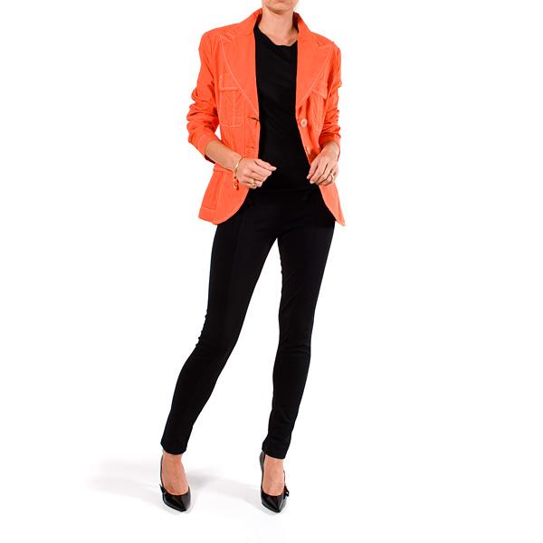 2bb48f7e2fe QueenB - NAISTE RIIDED JA JALANÕUD - imeilus oranz pükskostüüm,  suurus M/L